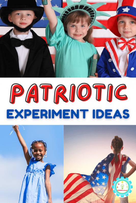 Check out this list of super fun, super patriotic experiments that kids will love doing over and over!