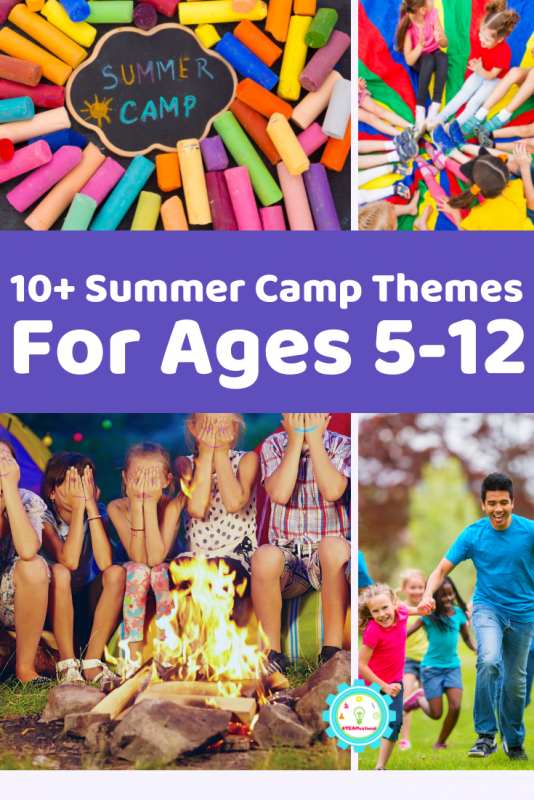 20+ school age summer camp themes that will make summer camp planning a breeze! So many hands-on summer camp themes that kids love!