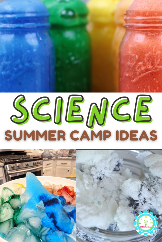 Summer camp science activities are so much fun! Get 20 summer camp science experiments that you can do without weird supplies or electricity!