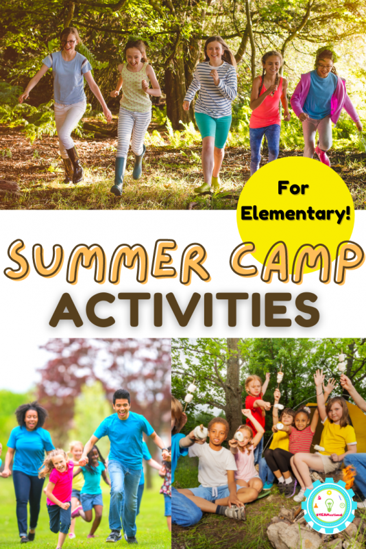 Looking for summer camp activities for elementary? These classic summer camp activities will thrill any kid!