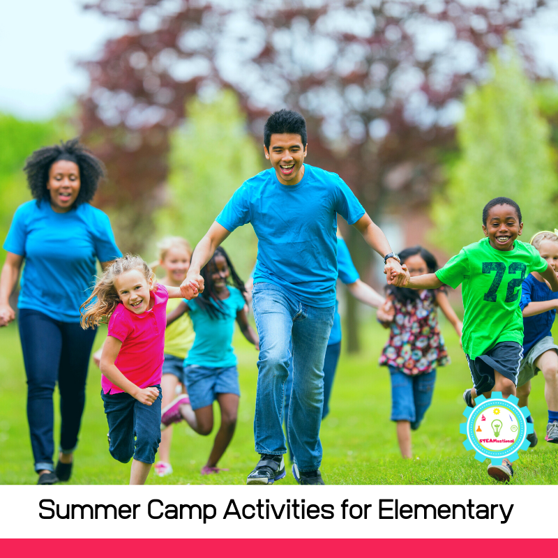 20+ fun summer camp activities for classic summer fun! These summer camp activities for elementary students are tons of fun!