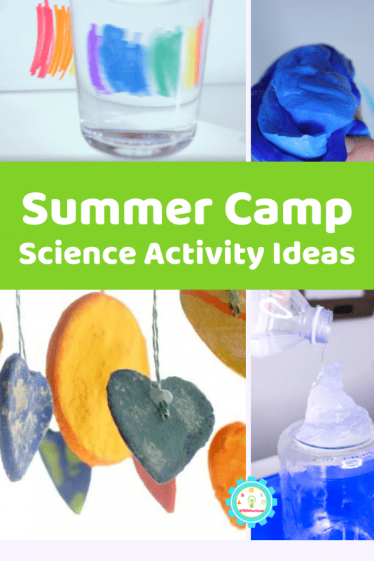 None of the science activities for summer camp on this list require any electricity. Not even a little!