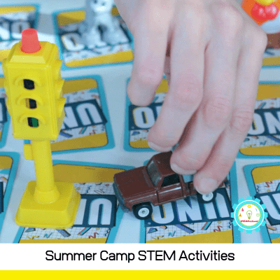 STEM and summer camp just go together! Find everything you need to plan colorful and fun STEM activities for summer camps right here!