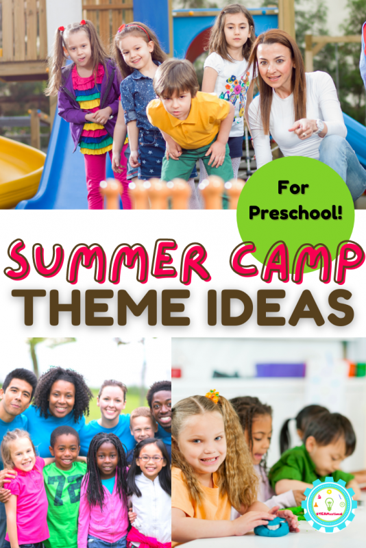 Preschool Summer Camp Themes are easy to do! 11+ ideas just for preschoolers!