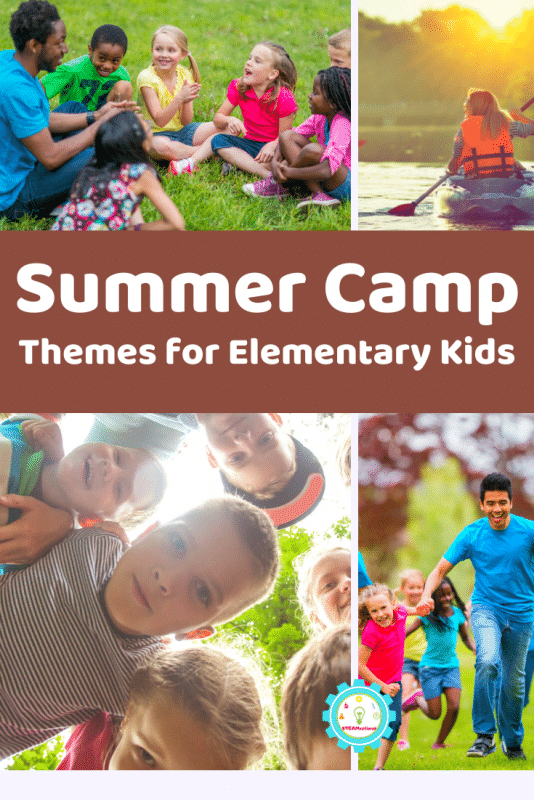 These summer camp themes for elementary kids provide so many fun summer camp ideas that elementary kids will love!