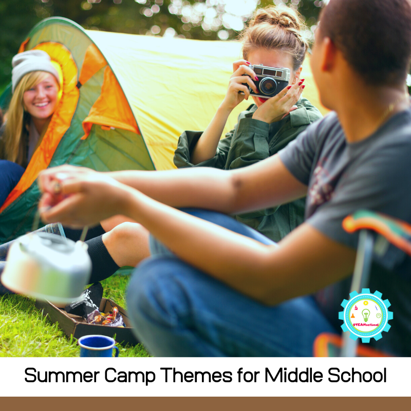 Middle schoolers love to have fun too! Get 11+ summer camp themes for middle schoolers that are tons of fun and easy to prepare!