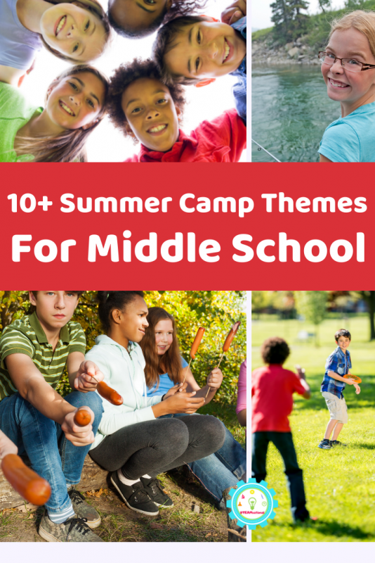 Don't let young kids have all the fun! These summer camp themes for middle school will make older kids happy!