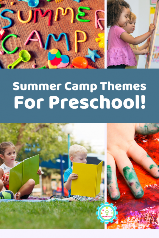 Summer camp isn't just for elementary kids. These summer cmap themes for preschoolers let little ones have summer fun, too!