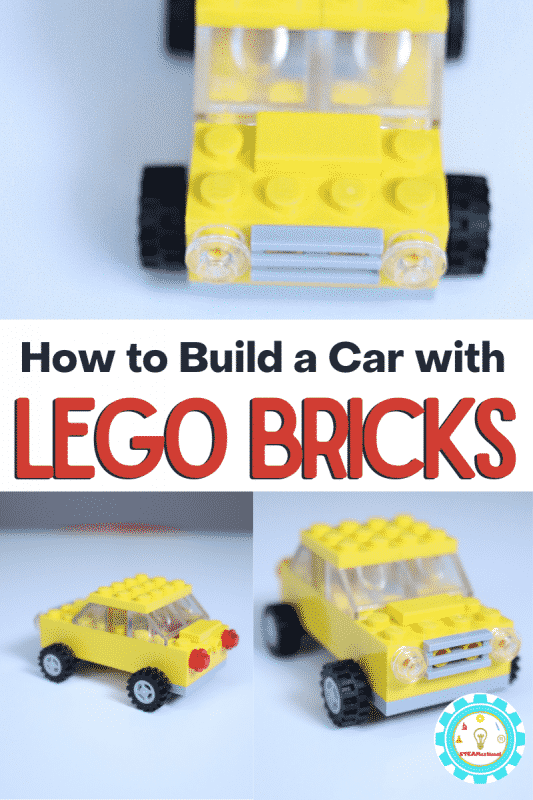 Learn how to make an easy LEGO car that looks just like a taxi! Step by step directions make it easy!