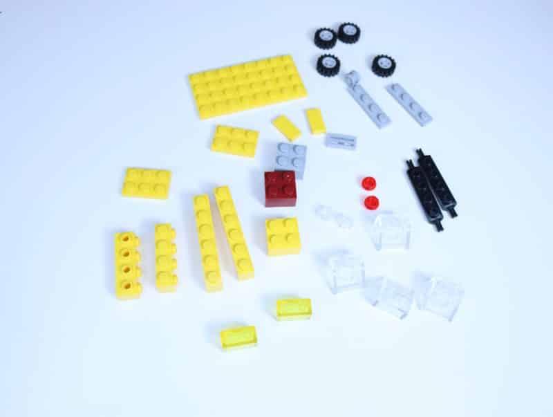 easy lego car