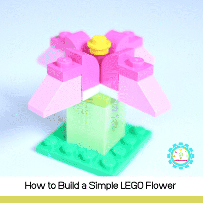 How to Build a Simple LEGO Flower with Step-by-Step Directions