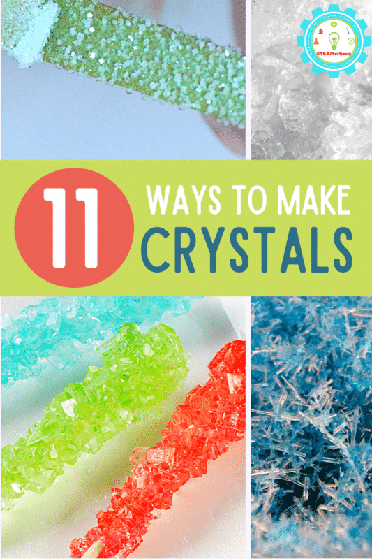 Here you'll find over 20 crystal science experiments that you can use to teach so many fun lessons about science, and even have a crystal experiment to take to the science fair!