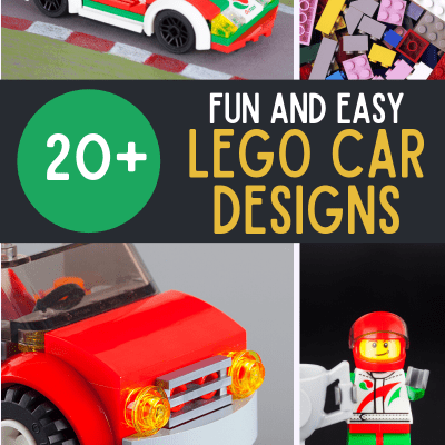 wheels onto a flat piece of LEGO and away you go!