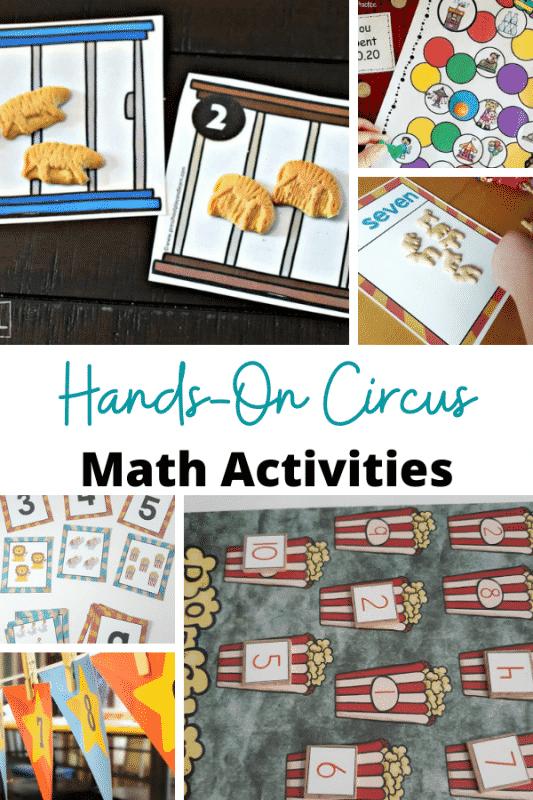 Wenn Ihre Kinder den Zirkus lieben oder sich für Zirkustiere interessieren, sind diese lustigen praktischen Zirkus-Mathe-Aktivitäten eine großartige Möglichkeit, das Mathematiklernen spannender zu machen.