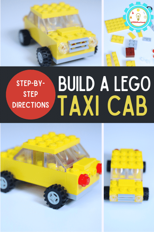 Build an easy LEGO car in 5 minutes! This basic LEGO car is an easy LEGO creation perfect for first-time LEGO builders!