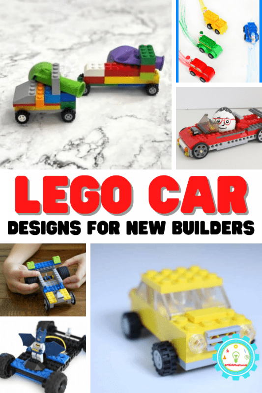 These LEGO car ideas will inspire new builders to create fun and unique LEGO car designs!