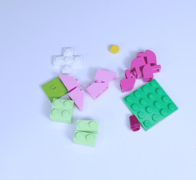 Lego Blumenstücke