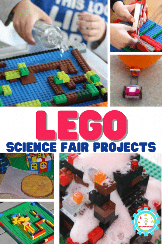 There are so many great STEM projects out there that use Easy LEGO Creations to create a fun hands-on experience for kids that make them perfect for science fair projects with LEGOs!