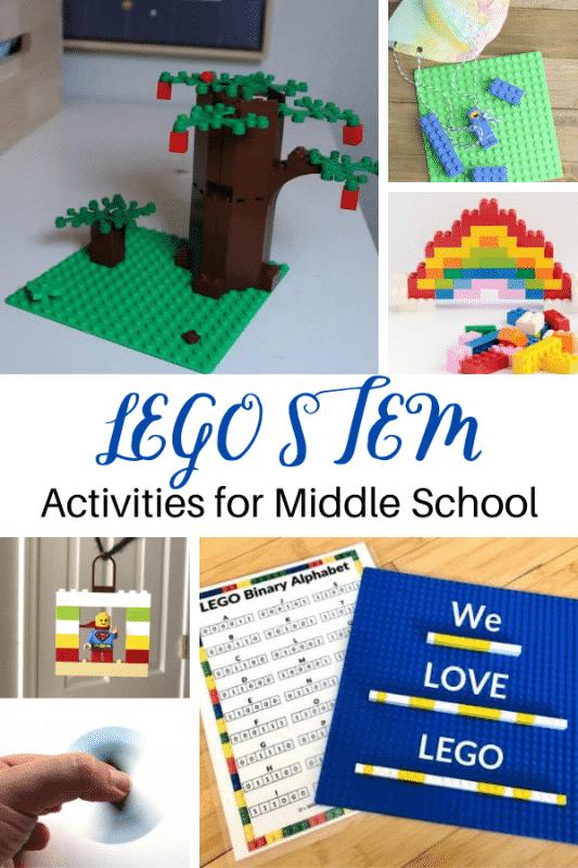 Mit diesen LEGO STEM-Projekten für die Mittelschule werden Kinder der Mittelschule viel Spaß haben!