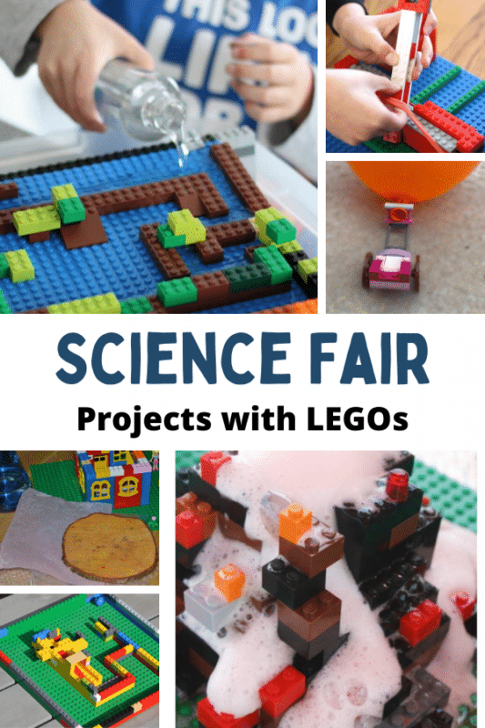 These LEGO science fair projects are the perfect way to mix a love of LEGO with a love of science!