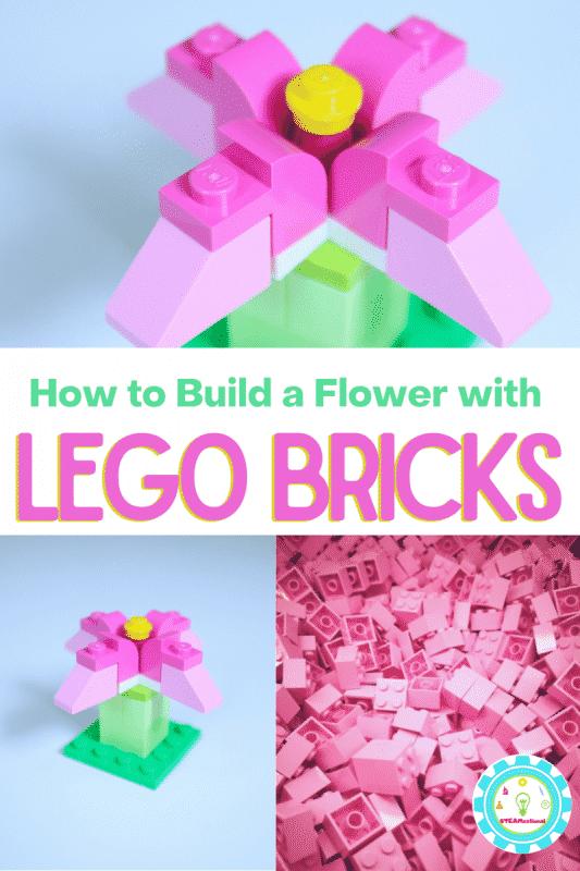 Eine einfache LEGO-Blume ist das einfachste LEGO-Projekt für Kinder, die neu im LEGO-Bauen sind.  Es dauert weniger als eine Minute, um eine schöne Blume zu bauen!