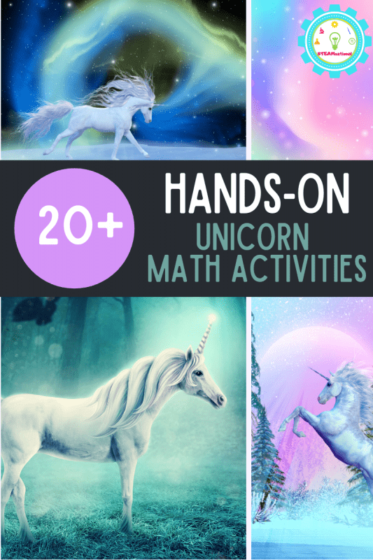 If you love unicorns, then you will love these unicorn math activities! Teach math in a fun way with unicorn math worksheets!