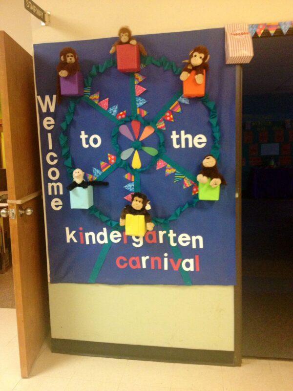 carnival classroom door