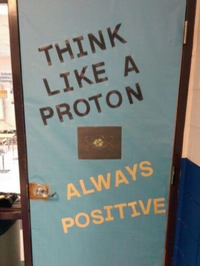 Science Classroom Decorating Ideas - Google Web Story Poster