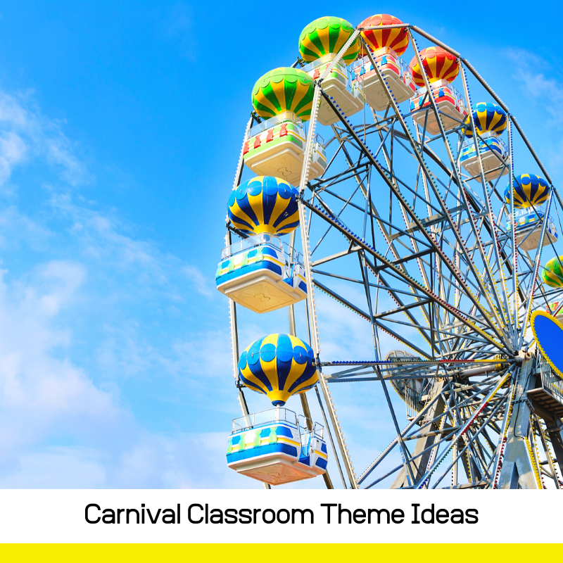 Get the cutest classroom ever! So many ideas for a carnival classroom theme that kids will love and will make you teacher of the year.