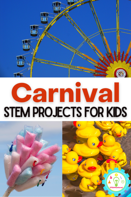 Kids will have a blast with these carnival STEM projects! Science has never been this fun before!