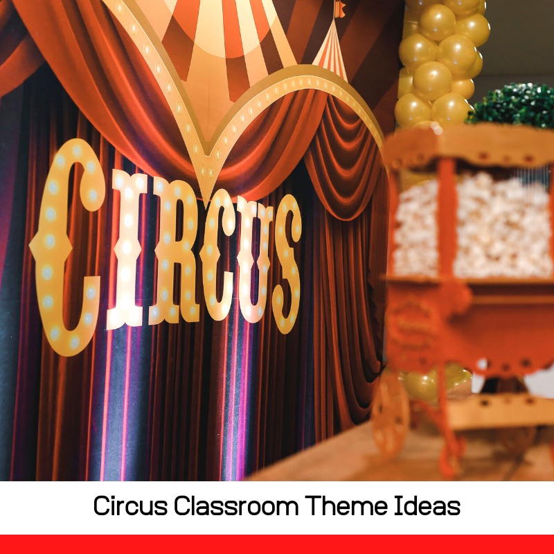 Make a circus in your classroom! Use these circus theme classroom ideas to inspire your classroom decorations and have fun with school!