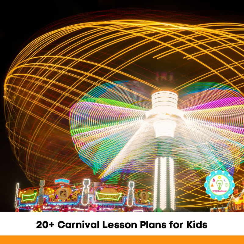 excited about learning and teach them about circus and carnival staples, then you can't miss these carnival lesson plans!