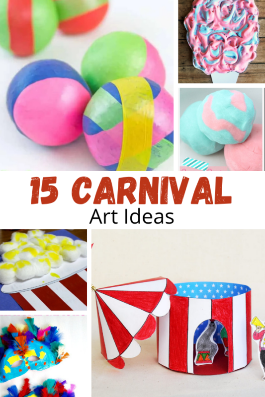 rating National Carnival Day or you are just looking for some carnival fun to do right in your own home, these carnival art ideas are perfect!