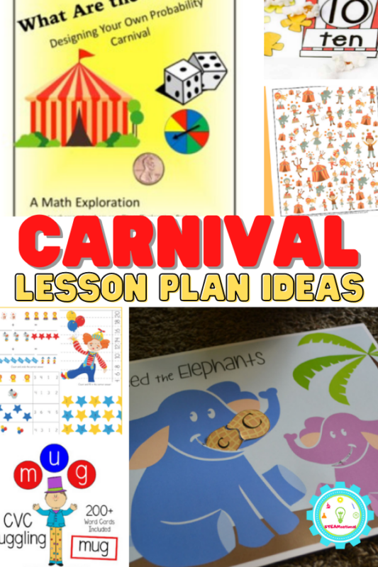 These carnival lesson ideas are all about making school fun and bringing the magic of carnivals into the classroom whether you're about to go to the State Fair as a class or just feeling nostalgic for burning hot fried food and rickety roller coasters that make you want to puke.