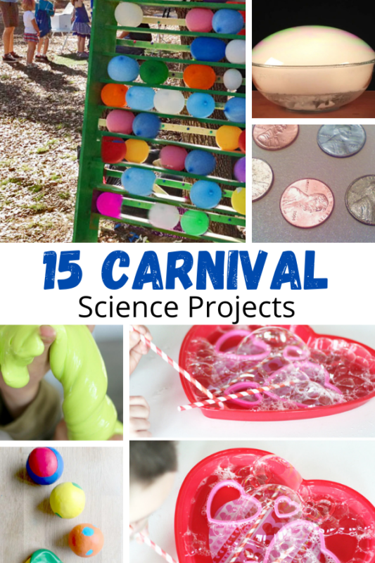 So many fun carnival science activities! Bring the magic and wonder of the carnival into the classroom with these super fun carnival activities!