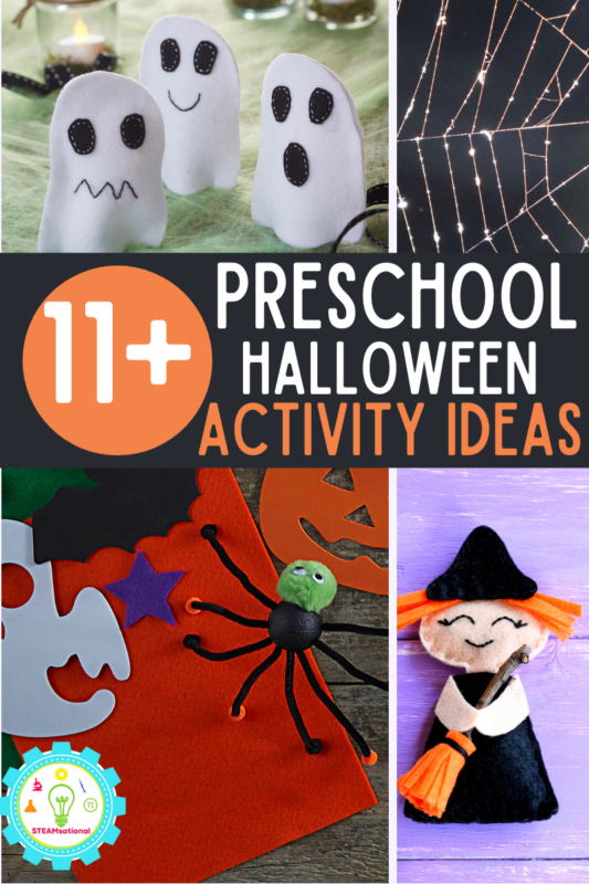 eschoolers are tons of fun and they love learning and exploring the world. They also get super, super excited about Halloween. Which makes doing Halloween activities for preschoolers a blast!