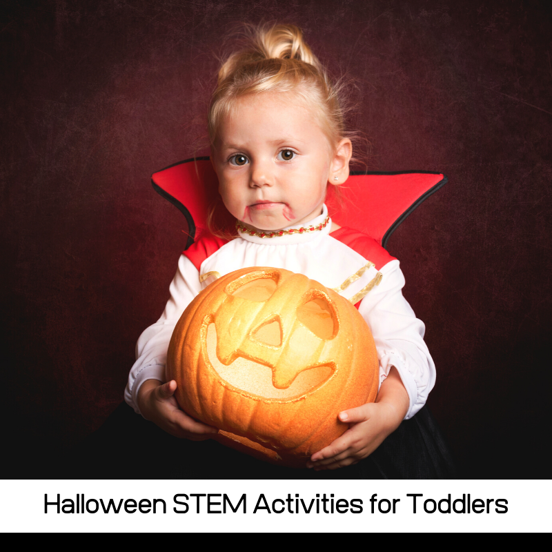 Over 20 exciting and hands-on Halloween STEM projects for toddlers, all with a fun STEM twist! Engaging and fun themes from bugs to ghosts!