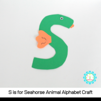 The S shape is perfect for a seahorse body and it just has an adorable vibe that will brighten your classroom. Kids will love making and playing with this one.